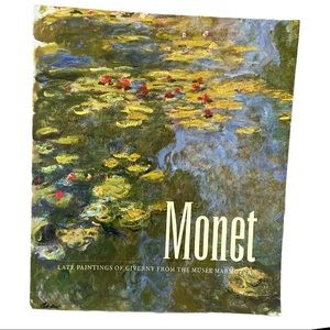 Monet coffee table book